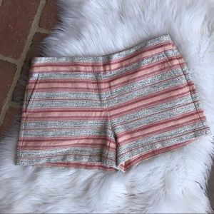 Loft Pink Coral The Riviera Shorts Size 0
